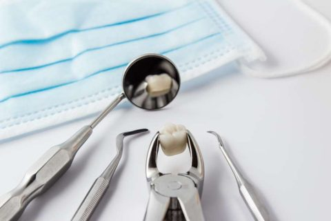 bigstock Tooth Extraction Concept